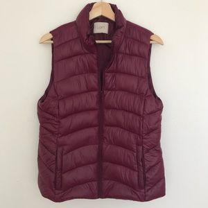 Ann Taylor Loft Alternative Down Puffer Vest